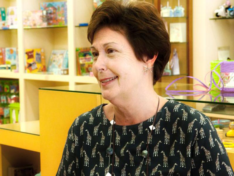 Marisa Plá ha estado al frente de Luy, su comercio familiar  Marisa Plá ha estado al frente de Luy, su comercio familiar