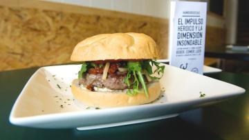 El impulso heroico y la dimensión insondable, hamburguesas Alicante