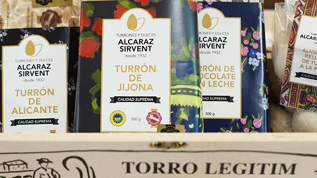 Turrones y Dulces Alcaraz Sirvent productos artesanales de Jijona