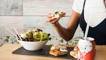 Fast & Bio Organic Restaurant, comida rápida y sana al momento.