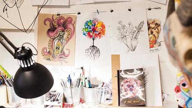 Soul Peckers, estudio de tatuajes y galería de arte en Alicante.