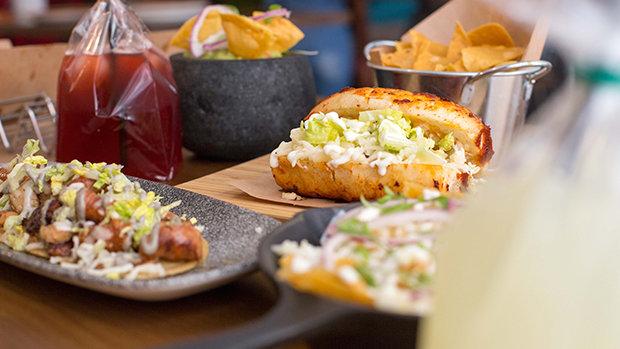 Chili Rom, una taquería mexicana ubicada en el centro de Alicante.