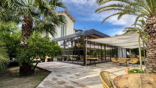 Finca Santa Luzia, en Sant Joan d'Alacant. El restaurante ideal.