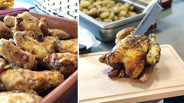 Trinchar, el buen pollo. La nueva pollería de Carl Borj y Dani Frías
