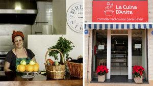 <p>La Cuina d'Anita, establecimiento de comida preparada para llevar en el barrio de La Florida en Alicante. De martes a domingo cocina casera y de temporada</p>